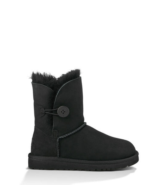UGG Kids' Bailey Button (Black)