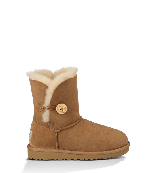 UGG Kids' Bailey Button (Chestnut)