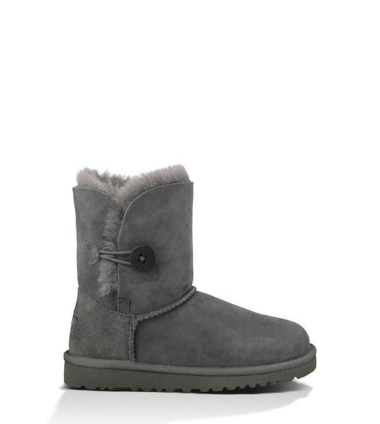 UGG Kids' Bailey Button (Grey)