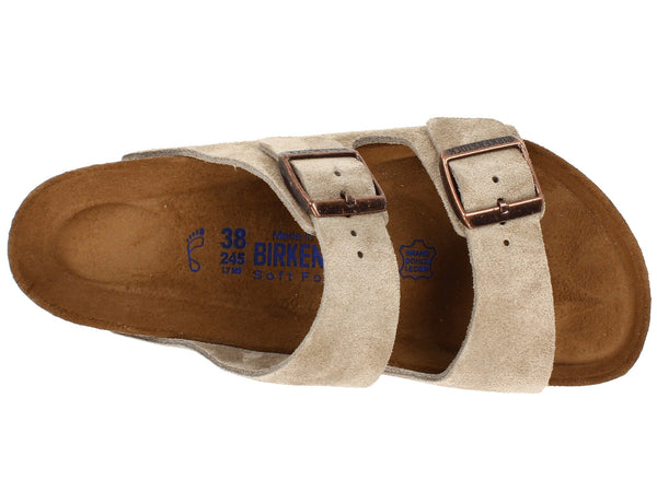883396dca Birkenstock Arizona Soft Footbed (Taupe Suede) – Hansen Shoes
