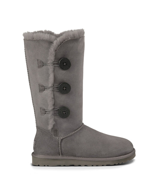UGG Bailey Button Triplet (Grey)