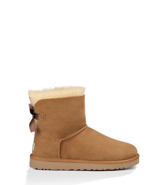 UGG Kids Mini Bailey Bow (Chestnut)