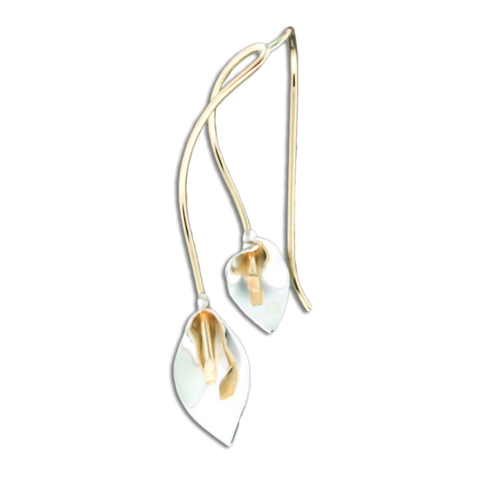 Mother Daughter Lily Earrings - Gold Mix