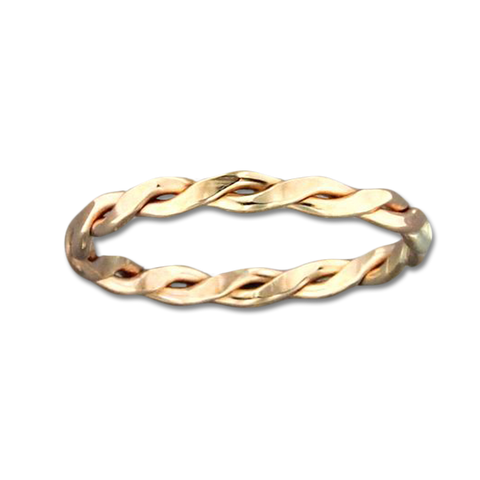 Braid 2.3mm Ring - Gold Filled