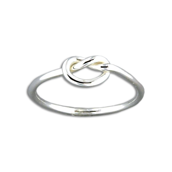 Single Knot Ring - Sterling Silver