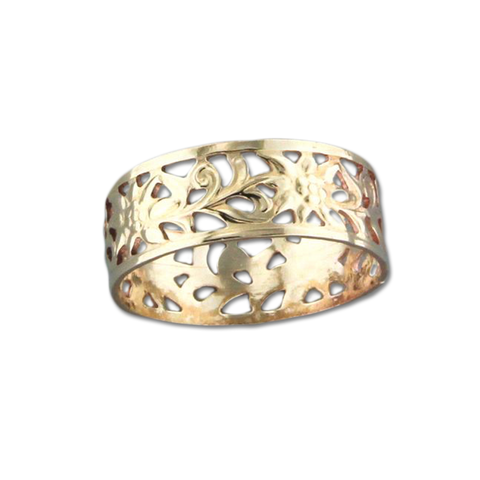 Filligree Ring - Gold Filled