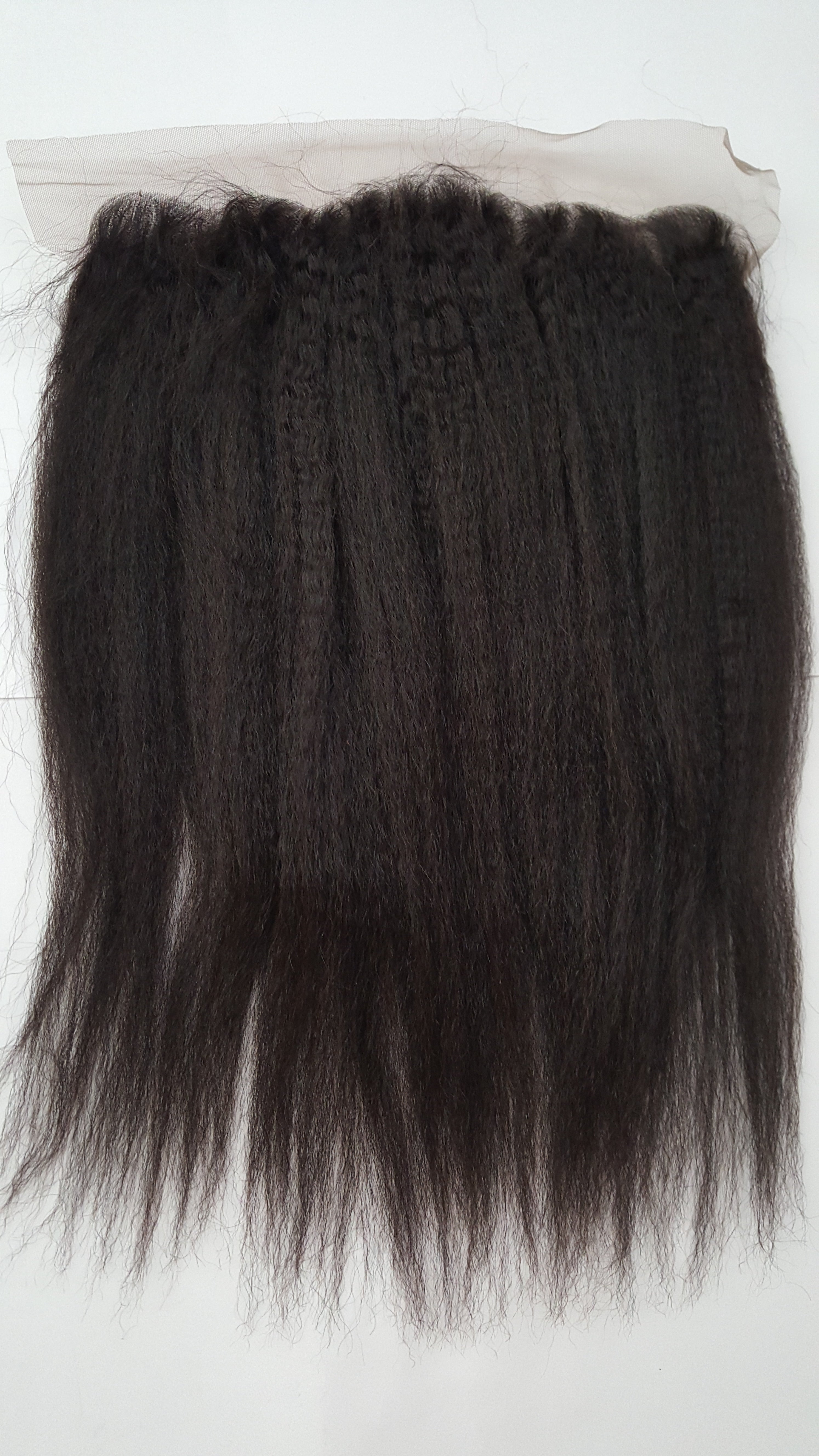 RADIANCE KINKY MONGOLIAN STRAIGHT LACE FRONTAL 16""