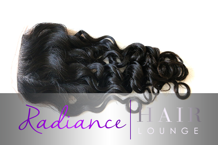 "RADIANCE EURASIAN CURLS AND WAVES CLOSURE 14"" CHRISTMAS SALE!"