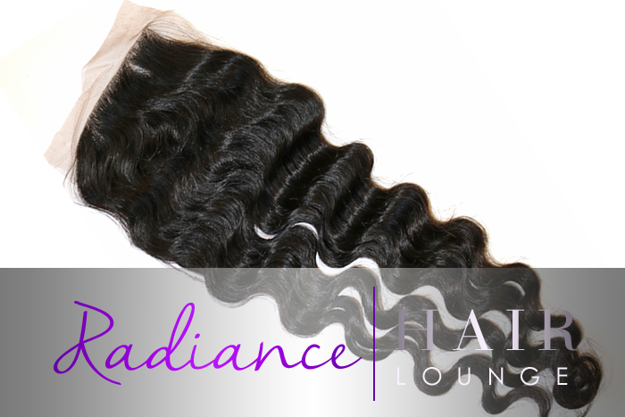 "RADIANCE BRAZILIAN WAVE CLOSURE 14"" CHRISTMAS SALE!"