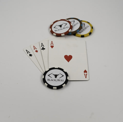 Black Bull Poker Chips