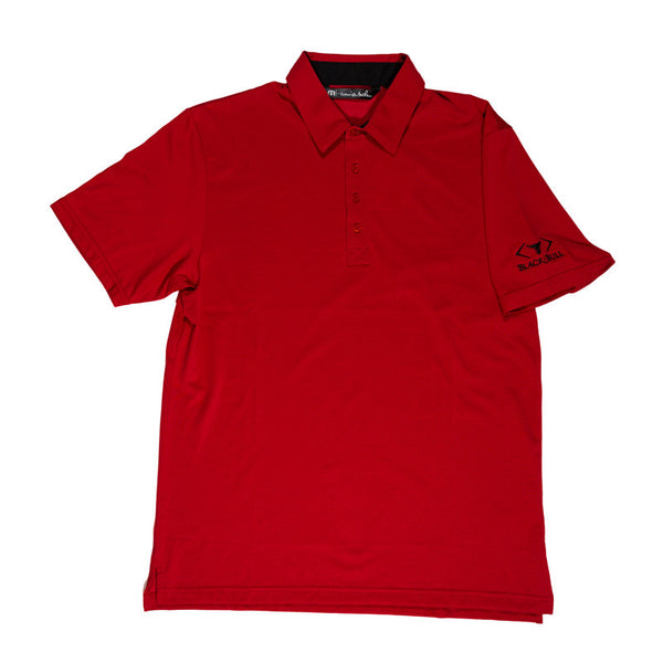 Black Bull Red Polo Shirt