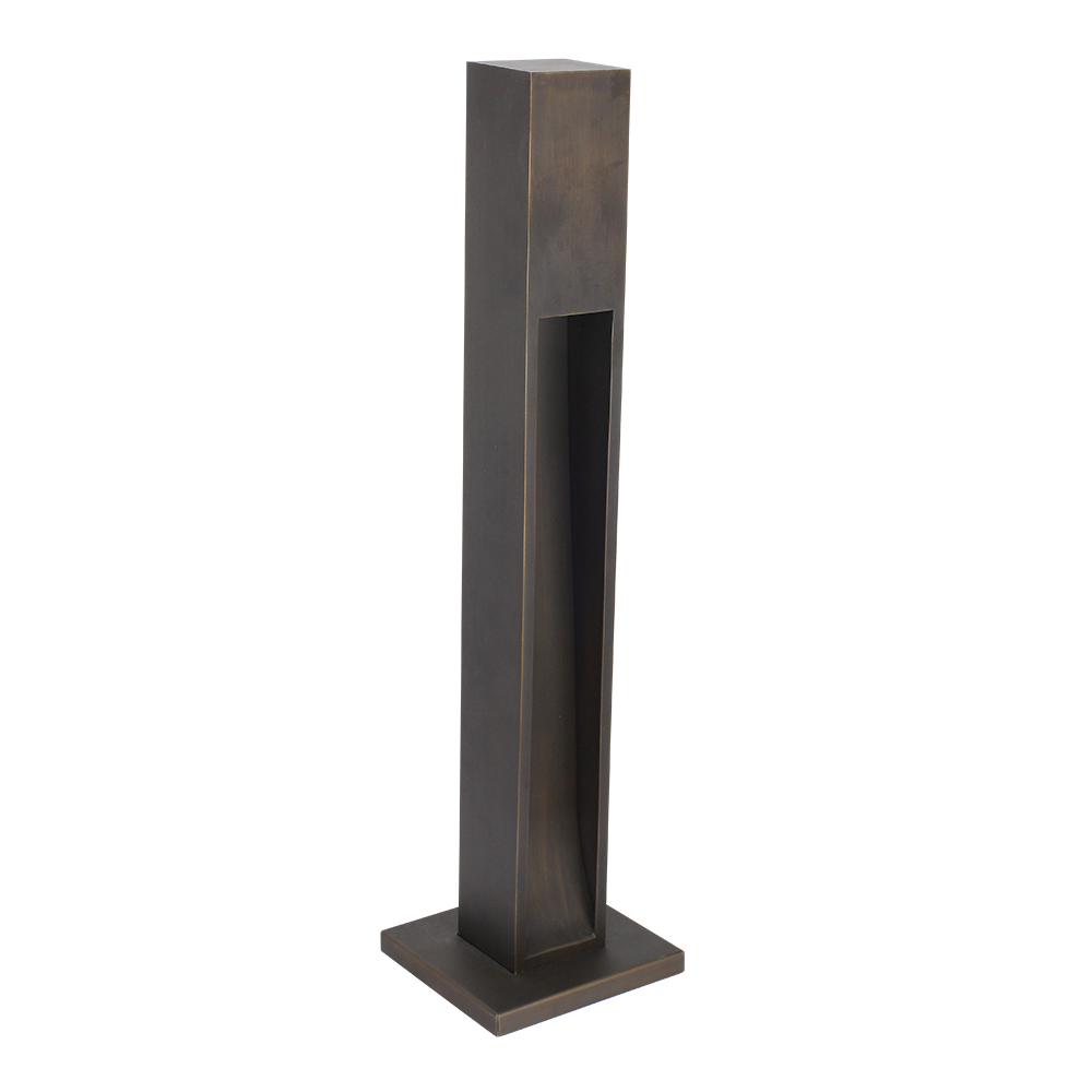SPJ Lighting Contemporary Path Light in matte bronze