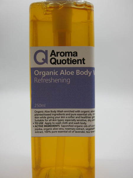 Organic Aloe Body Wash (Refreshening) - 250ml