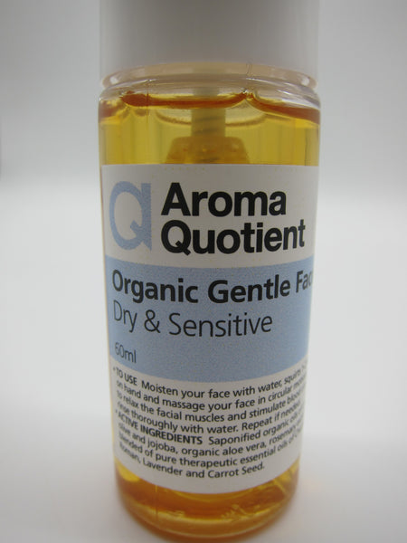 Organic Gentle Face Wash (Dry & Sensitive) - 60ml