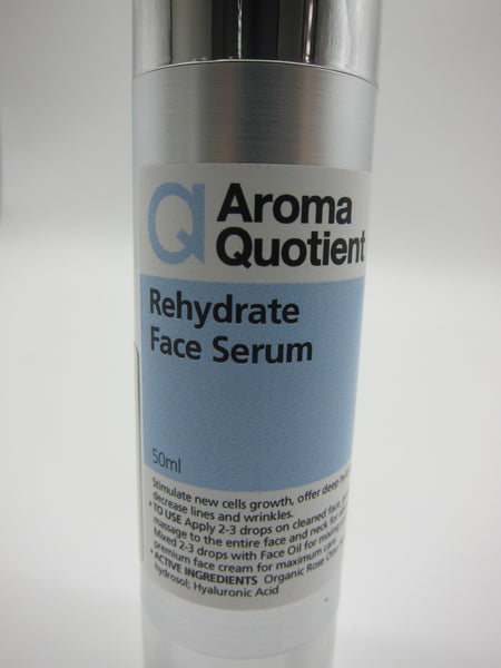 Rehydrate Face Serum - Organic Rose Otto - 50ml