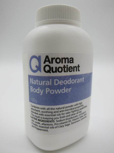Natural Deodorant Body Powder - 100g