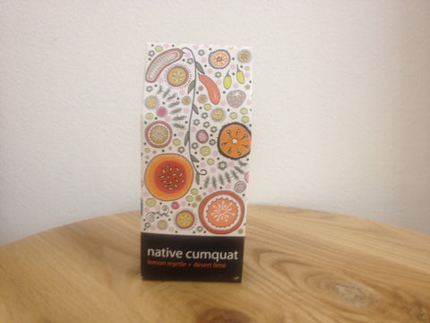 Native cumquat handmade soap