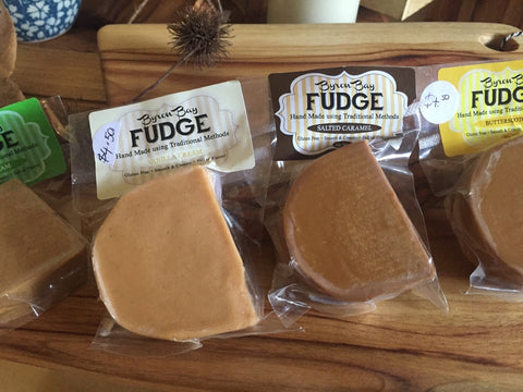 Fudge - Various flavours -Salted Caramel/Irish Cream/Vanilla Cream/Butterscotch/Russian Caramel