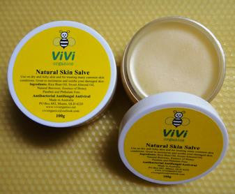 Natural salve beeswax moistuiser