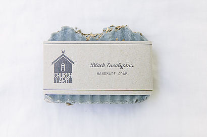 Soap  Black Eucalyptus