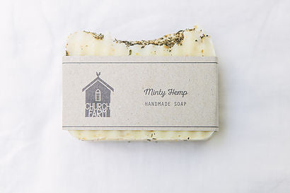 Soap  Minty Hemp