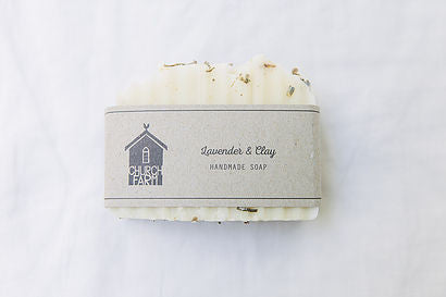 Soap  Lavender and clay