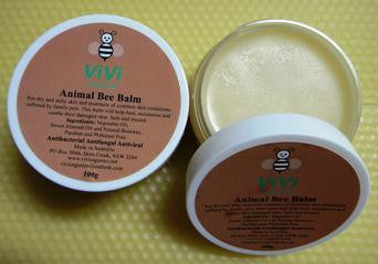 Natural beeswax moistuiser, animal balm
