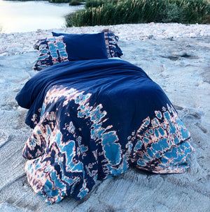 Bohemian Blue Duvet Set *FREE SHIPPING ON ORDERS IN THE USA