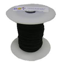 Bcy 2213 D Loop Rope 2.4mm Black 100 Ft. Spool