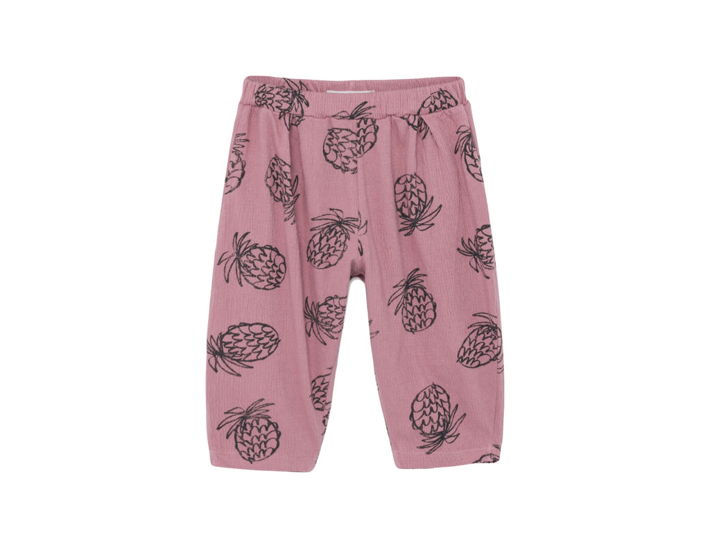 All Over Pineapple Jersey Trousers