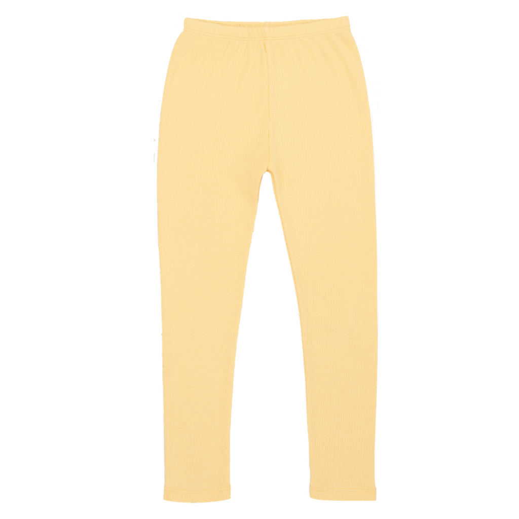 Ribbed Legging - Butter