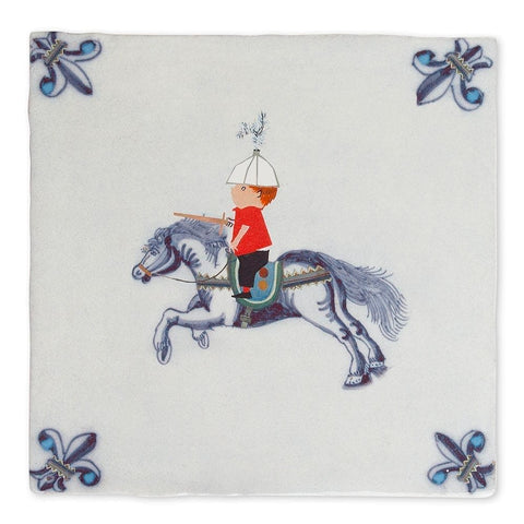 Story Tile - Knight on Horseback
