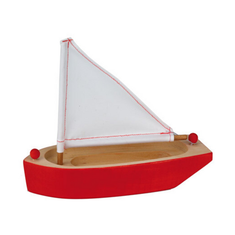 Sailing Boat - Red