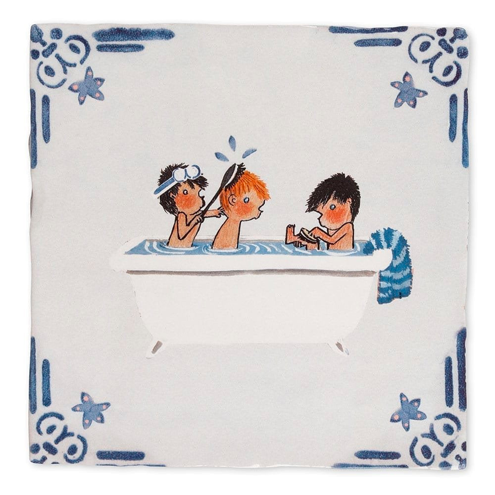 Story Tile - Tub Time