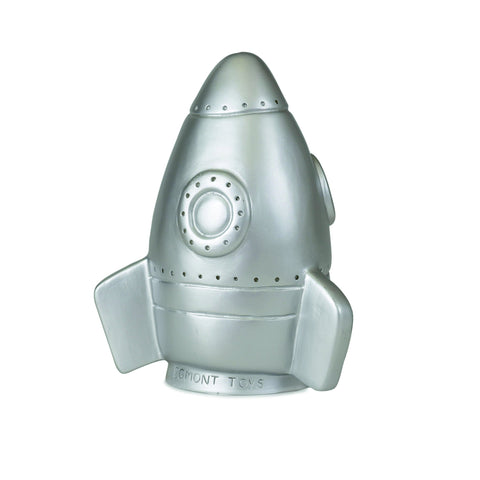 Rocket Night Light - Silver