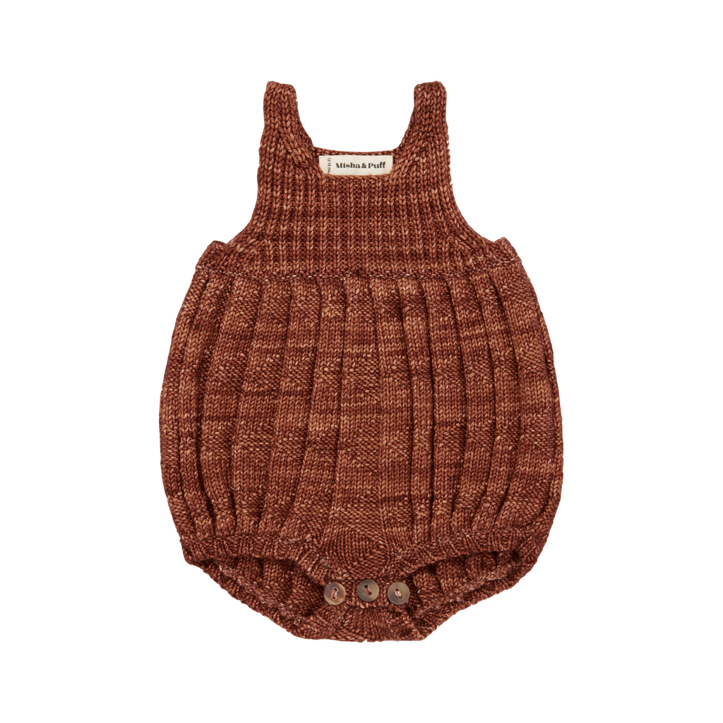 Orchard House Romper - Chestnut