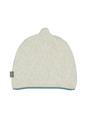 Lemon Newborn Hat - Blue