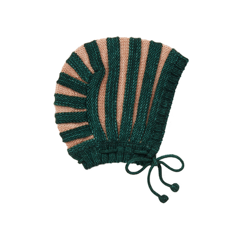 Accordion Pleat Bonnet - Laurel