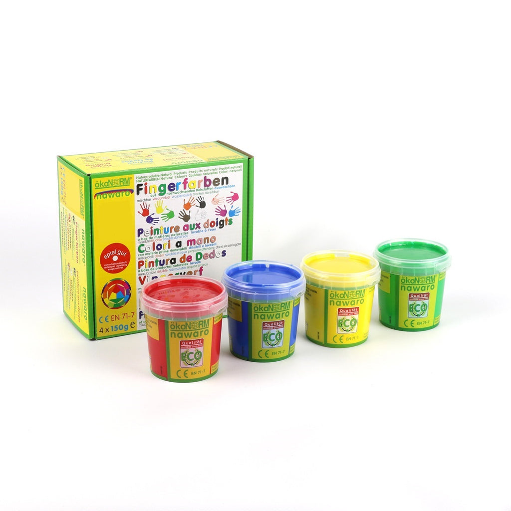 Finger Paints - 4 Color Set