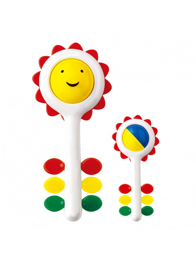 Sunflower Rattle