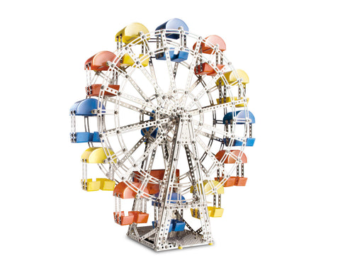 Motorized Ferris Wheel Building Kit