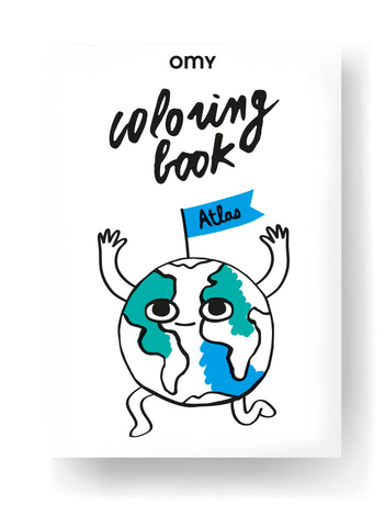 Coloring Book - Atlas