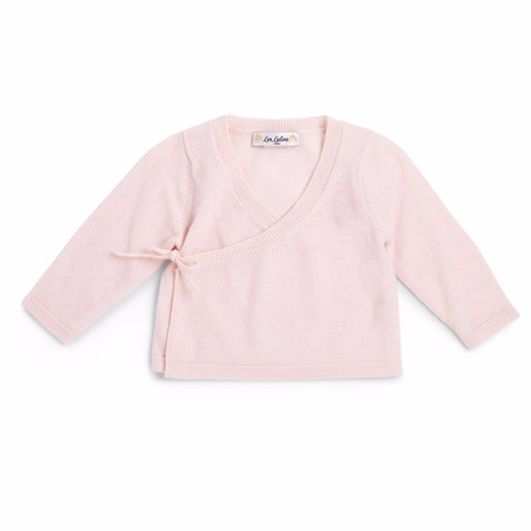 Camille Wrapover Top - Pink
