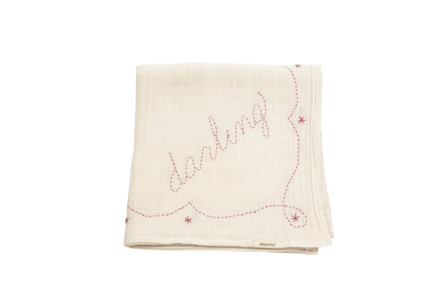 Darling Pink Endearment Swaddle