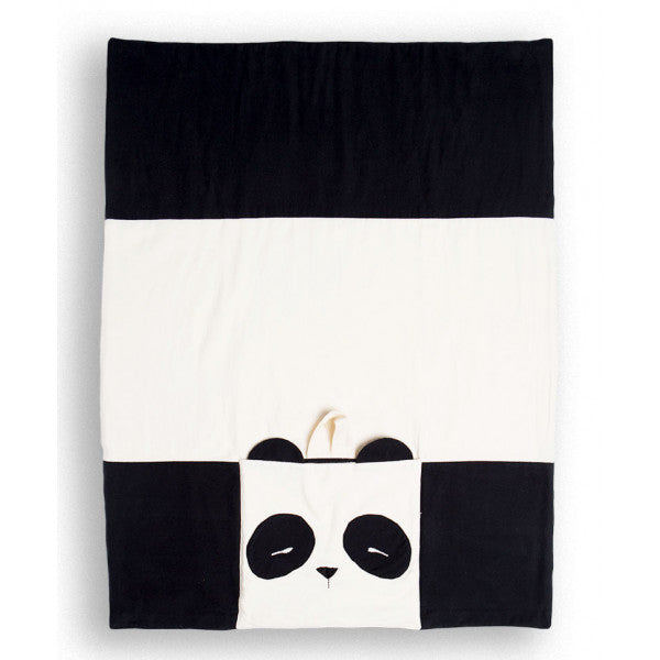 Marco the Panda Nomad Travel Blanket