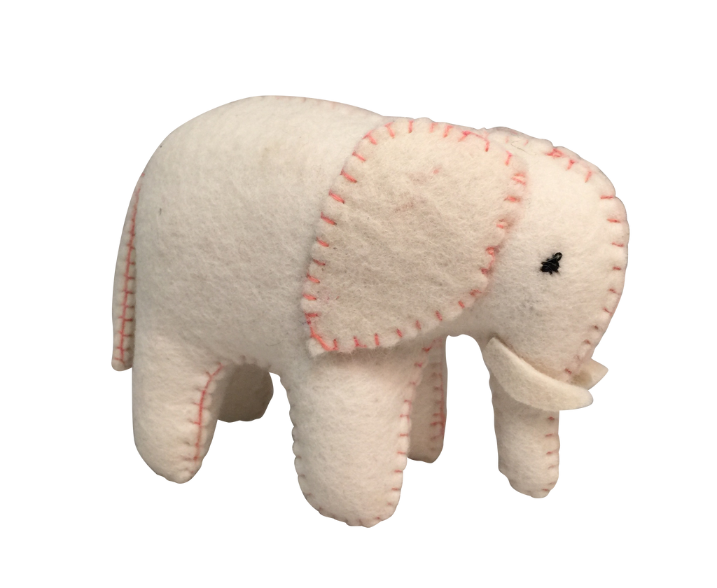 White Elephant - Pink Stitch