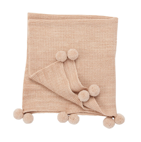 Layette Heirloom Blanket - Shell