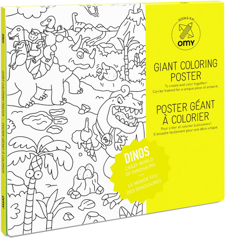 Giant Coloring Poster - Dinosaur