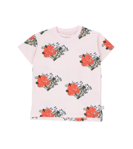 Flowers Tee - Light Pink