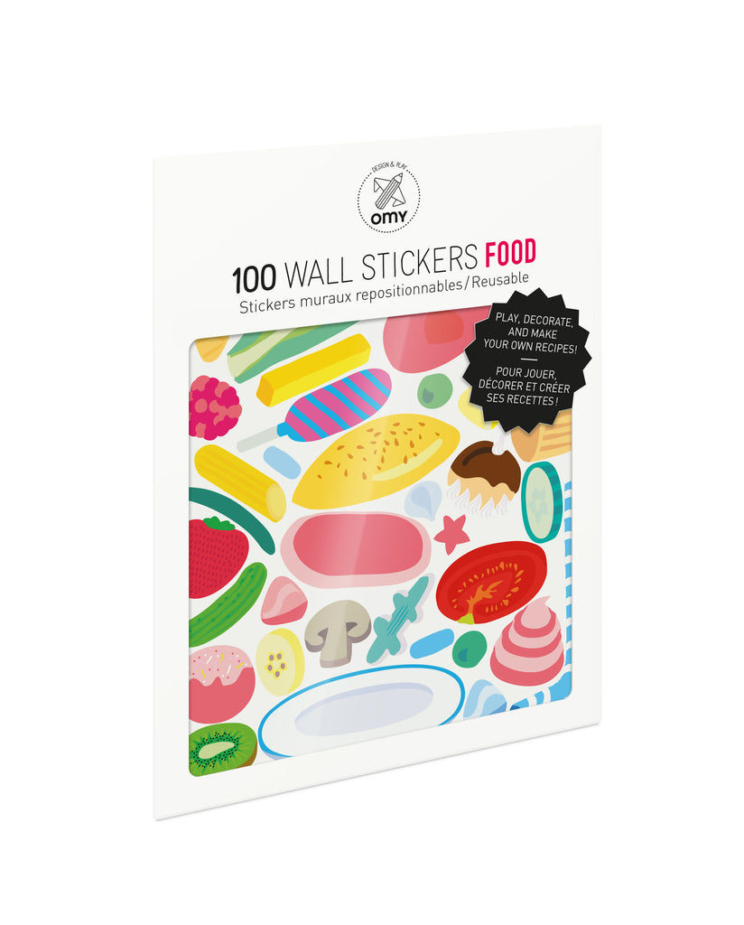 Removable Wall Stickers - Food